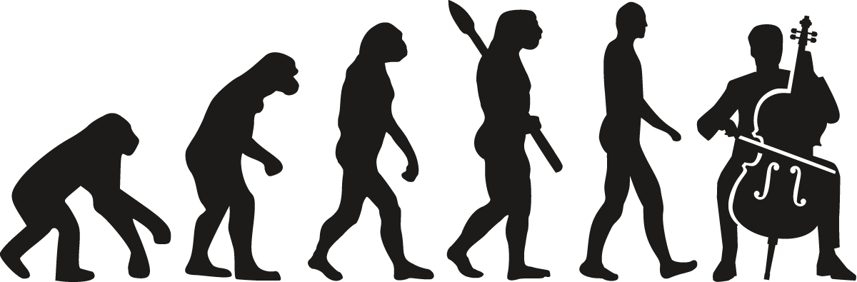 Evolution of a Cello Player